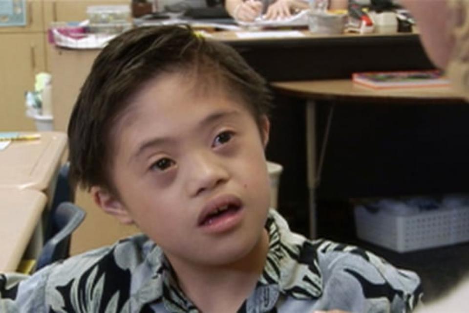 Noah at Age 8